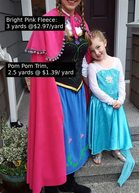 Diy Costume Anna Frozen